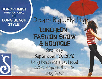 Luncheon Fashion Show & Boutique on Sept 10 2016