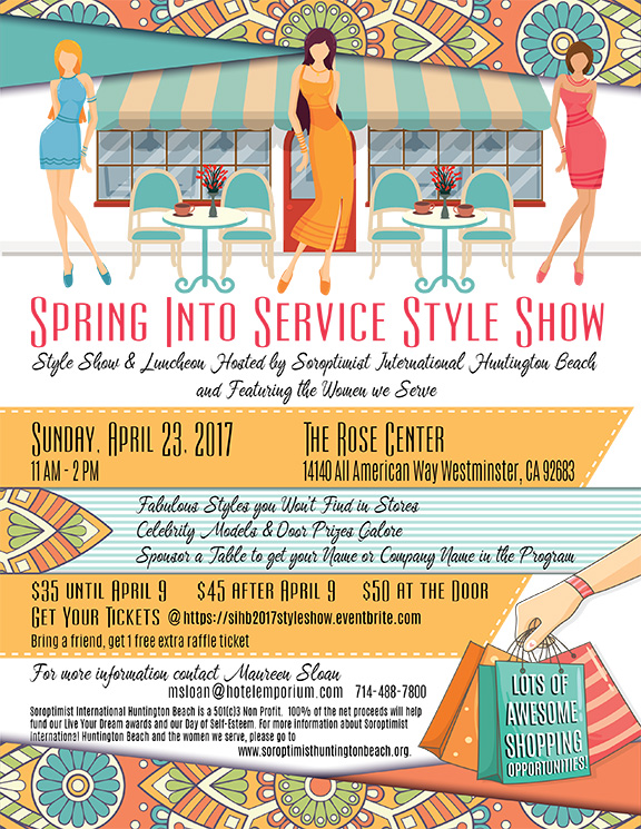 Style Show Flyer