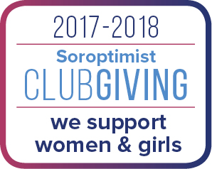 Soroptimist Club Giving Badge