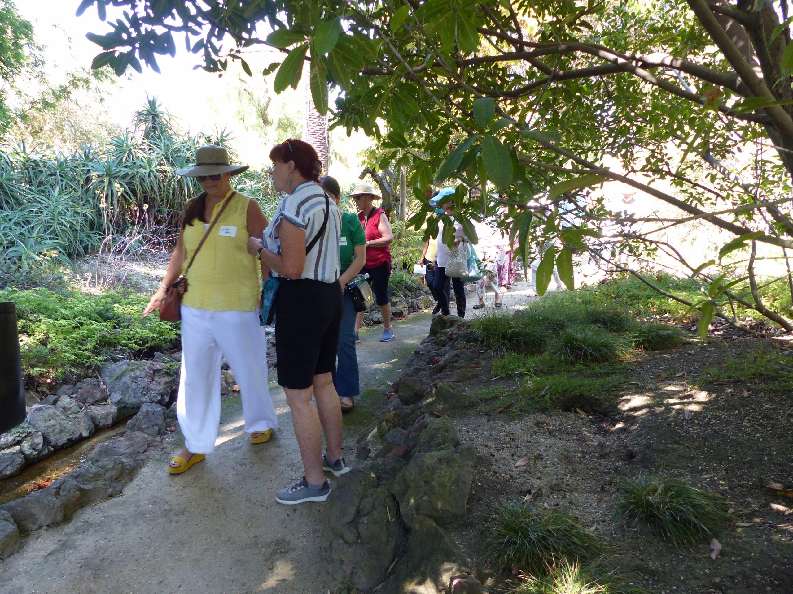 Stream in Native Garden - Rancho Los Alamitos