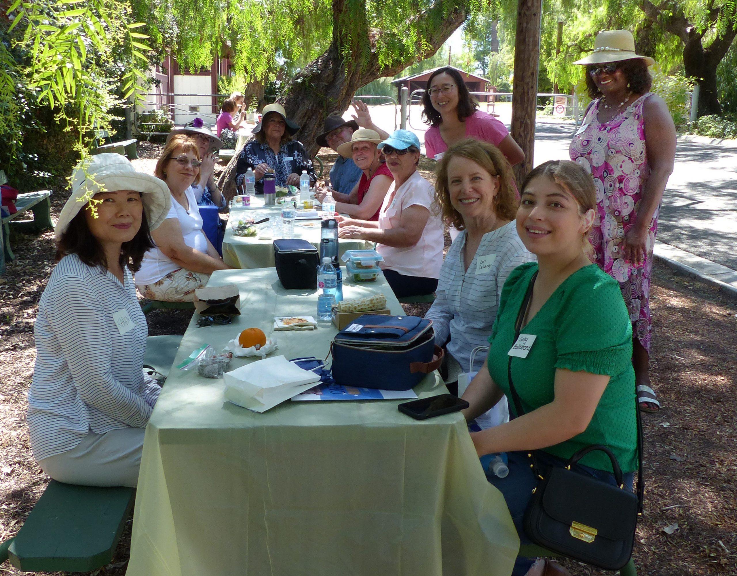 Lunch break at Rancho Los Alamitos